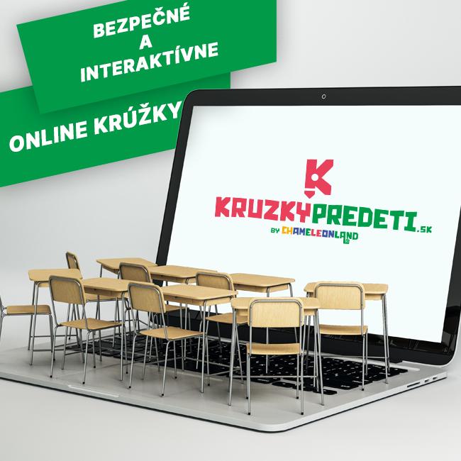 Bezpečné a interaktívne Online krúžky